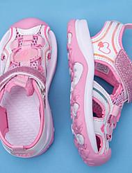 cheap -Girls' Comfort Synthetics Sandals Little Kids(4-7ys) Purple / Pink Summer