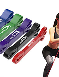 cheap -Pull up Assistance Bands 5 pcs Sports Natural Rubber Home Workout Exercise & Fitness Gym Workout Portable Non Toxic Durable Muscular Bodyweight Training Resistance Training Strength Trainer For Men