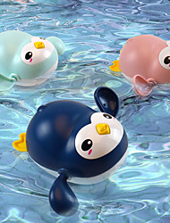 cheap -Bath Toy Fishing Floating Squirts Toy Bathtub Pool Toys Water Pool Bathtub Toy Bath Toys Bathtub Toy Penguin Plastic Floating Wind Up Swimming Swimming Pool Bathtub Bath Time Bathroom Summer for