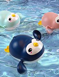 Недорогие -Игрушки для купания Игрушка для рыбалки Игрушки для бассейна Игрушка для ванны с водой Игрушки для ванной Игрушка для ванной Пингвин пластик Плавающий Заводиться Плавание / Детские