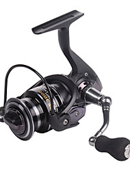 cheap -Fishing Reel Spinning Reel 5.2:1 Gear Ratio+12 Ball Bearings Sea Fishing / Spinning / Jigging Fishing / Alumium Alloy / Trolling & Boat Fishing / Hand Orientation Exchangable