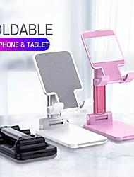 Недорогие -складная металлическая настольная подставка для планшета держатель сотового телефона выдвижная подставка для мобильного телефона подставка для зеркала для iphone ipad
