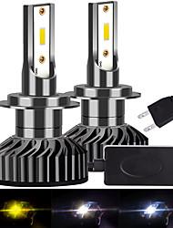 cheap -2pcs INFITARY F2 1860 chip LED H7 H1 H3 H11 9006 9005 H4 H13 9004 9007 Auto Car Headlight Bulb 72W 8000LM LED Fog Lamp