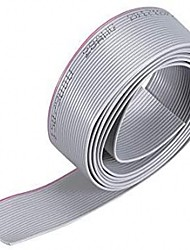 cheap -3Meter 20P/1.0mm PITCH Grey Flat Ribbon Cable 20 Pins Gray  for AWM 2651 Connection