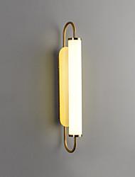 cheap -Simple Living Room Long Wall Lamp Light Luxury Atmosphere Bedroom Bedside Lamp Mirror Headlamp Staircase Corridor Lamp 12W