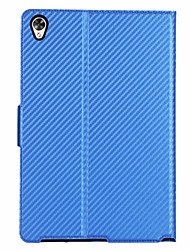 "cheap -Case For Huawei Tablets MediaPad M6 10.8"" Card Holder / Shockproof Full Body Cases Solid Colored Carbon Fiber"