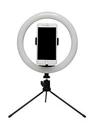 cheap -BRELONG® Round Live Light Night Light Dimmable / Photography Lights / Selfie Light Mode Switching USB 2pcs