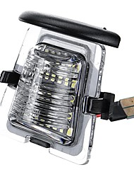 cheap -White SMD LED License Plate Lights Lamp Housing For Jeep Wrangler JK JKU 2007-2018