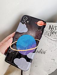 olcso -Case Kompatibilitás Apple iPhone 11 / iPhone 11 Pro / iPhone 11 Pro Max Ütésálló Fekete tok Rajzfilm TPU