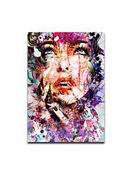 ieftine -imprimeu panouri laminate pe pană - oameni abstracte imprimeuri moderne de artă pictură abstractă modernă tipărit pe tablou pictură pictură artă decorațiuni grafice pentru locuințe pentru sufragerie