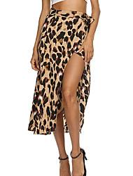 cheap -Women's Mini Trumpet / Mermaid Skirts Striped
