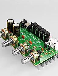 Недорогие -Плата усилителя Цифровой Аудио Стерео 12-15 V 25+25 2.0 with USB Charging Interface(5V) Автомобили Компьютер для авто домашнего кинотеатра
