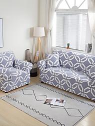 Недорогие -геометрические упругие чехлы на диван для гостиной эластичный современный нескользящий чехол для дивана диван чехол для стула протектор 1 / 2/3/4 место