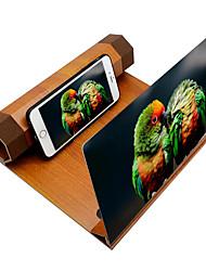 Недорогие -увеличитель экрана мобильного телефона увеличенный экран видео усилитель для смартфона подставка для монитора