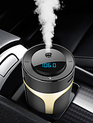 cheap -Car Charger Bluetooth Wireless Hands-free MP3 Player FM Transmitter QC3.0 Fast Charge Air Purification Aromatherapy Humidifier