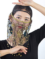 cheap -Dance Accessories Accessories Women's Training / Performance Tulle Appliques Veil