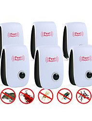 cheap -6Pcs Ultrasonic Plug In Pest Repeller For Flea, Insects, Mosquitoes, Mice, Spiders, Ants, Rats, Roaches, Bugs, Non-Toxic, Humans & Pets Safe