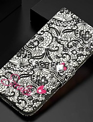 cheap -Case For Samsung Galaxy A51/ Galaxy A20e / Galaxy Note 10 Plus Wallet / Card Holder / Rhinestone Full Body Cases Flower PU Leather For Galaxy A71/A10S/A20S/M30S/A2 Core/A10E