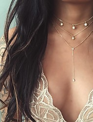 cheap -Women's Choker Necklace Chrome Gold 40 cm Necklace Jewelry 1pc For Daily