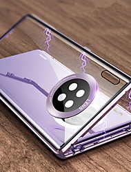 cheap -Magnetic Adsorption Tempered Glass Double Sided Case For Huawei Mate 30 / Mate 30 Pro 360 Protective Cover For Huawei P40 / P40 Pro / P40Lite / P30 / P30 Pro / P30Lite / Mate 20 / Mate 20 Pro