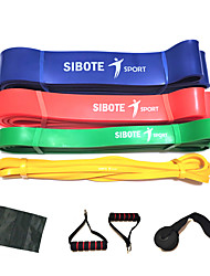 cheap -Pull up Assistance Bands 8 pcs Sports Natural Rubber Home Workout Exercise & Fitness Gym Workout Portable Non Toxic Durable Muscular Bodyweight Training Resistance Training Strength Trainer For Men