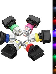 cheap -T10 SMD5050 194 LED Bulbs Car License Plate Lights Bulb Instrument Gauge Cluster Dash Light With Socket