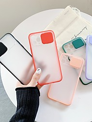 cheap -Case For Apple iPhone 11 / iPhone 11 Pro / iPhone 11 Pro Max Shockproof Back Cover Solid Colored Plastic