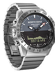 cheap -NORTH EDGE Men's Military Watch Automatic self-winding Formal Style Modern Style Outdoor Water Resistant / Waterproof Analog - Digital Silver / One Year / Stainless Steel / Stainless Steel / Japanese