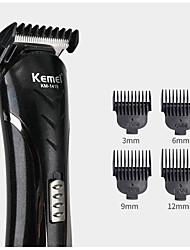 Недорогие -kemei km-1407 6 в 1 машинка для стрижки волос электробритва многофункциональная бритва для носа аккумуляторная машинка для стрижки аккумуляторов для мужчин парикмахерская набор инструментов