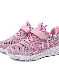 Недорогие -Девочки Удобная обувь Эластичная ткань Спортивная обувь Маленькие дети (4-7 лет) / Большие дети (7 лет +) Пыльная роза / Розовый Лето