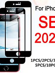 Недорогие -1 шт. / 2 шт. / 3 шт. / 5 шт. / 10 шт. Для iphone se полное покрытие закаленное стекло на для iphone se 2020 протектор экрана aifon se 2nd se2 4.7 защитная сенсорная пленка