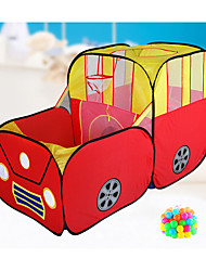 cheap -Play Tent & Tunnel Playhouse Beach Toy Tent Car Bus Foldable Cartoon Convenient Parent-Child Interaction Polyester Indoor Outdoor Spring Summer Fall Unisex Boys' Girls' Pop Up Indoor/Outdoor
