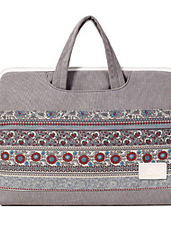 cheap -Laptop Bag National Style Canvas Inner Bag Handbag Support 13.3/14/15.6 Inch