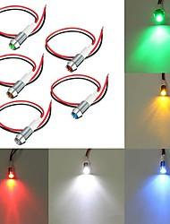cheap -10mm LED Metal Warning Light 12V Dash Panel Indicator Bulb Lamp for Car Boat Marine