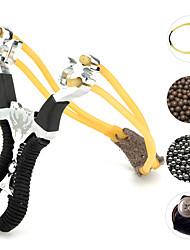 Недорогие -Wolf Tooth Handle Slingshot Детские спортивные снаряды Веселье Металл Детские Взрослые Универсальные Мальчики Девочки Игрушки Подарок