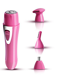 Недорогие -электрическая женская бритва для депиляции волос триммер для носа триммер для бровей многофункциональный набор 4-в-1 (зарядка USB)