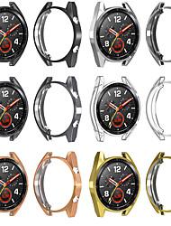 cheap -Cases For Huawei Huawei Watch GT TPU Screen Protector Smart Watch Case Compatibility