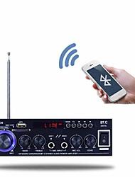 Недорогие -Bluetooth Усилитель мощности Цифровой Аудио Стерео Hi-Fi 40+40 2.0 BT-608 Живот Микрофон 80 для авто домашнего кинотеатра