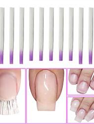cheap -10pcs Plastics Nail Tools New Design Fashion Cute Daily Festival for Finger Nail / Romantic Series