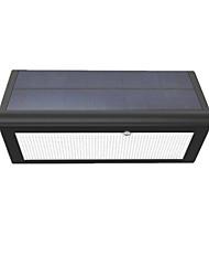 cheap -wireless Radar Induction Sensor solar garden street light with 48LED  5.6W LED Power solar wall light