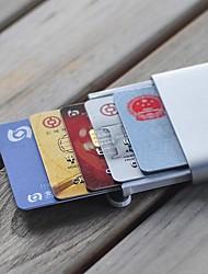 Недорогие -xiaomi youpin miiiw держатель карты id бизнес чехол для кредитной карты нержавеющая сталь серебро алюминий женщины мужчины id box коробка чехол карманный кошелек