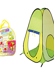 cheap -Play Tent & Tunnel Playhouse Tent Frog Foldable Cartoon Convenient Polyester Indoor Outdoor Spring Summer Fall Pop Up Indoor/Outdoor Playhouse for Boys and Girls