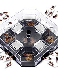 Недорогие -Бытовые эффективные тараканы ловушки коробка многоразовые таракан жук ловец тараканов таракан убийца приманки ловушки пестициды для кухни