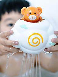 cheap -Cute Baby Bath Toys Rain Cloud Plastic Water Game Shower Squirt Float Animal Educational Summer Toys For Kids 1-3 Years Elephant