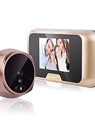 cheap -High-definition Visual Electronic Cat Eye Household Doorbell Anti-pry Electronic Cat Eye Door Mirror Supports Taking Pictures Video