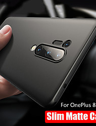 cheap -Ultra Thin Black Matte Soft Silicon TPU Protection Case for OnePlus 8 Pro OnePlus 7 Pro One Plus 8 One Plus 7 Shockproof Back Cover
