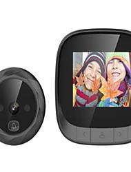 Недорогие -2,4 видимая камера с дверным звонком «кошачий глаз» поддерживает камеру ночного видения со встроенным контуром памяти, обеспечивающим длительный режим ожидания