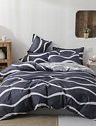 cheap -Classic bedding set 4 size geometric printing summer bed linen 4pcs/set duvet cover set Pastoral bed sheet AB side duvet cove