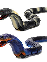 cheap -Gags & Practical Joke Gag toys Rattlesnake Toy Snake Animal Cobra Rechargeable Remote Control / RC Halloween ABS Kid's Toy Gift