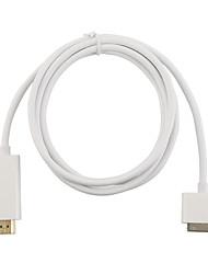 Недорогие -Белый 30-контактный цифровой AV-адаптер HD док-разъем для HDMI 1080P для Apple Iphone Iphone4 / 4S Ipad2 / 3 Ipad кабель